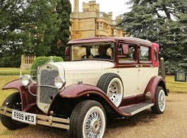 Vintage wedding car hire in Letchworth